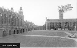 Horsham, Christ's Hospital School Houses c.1955