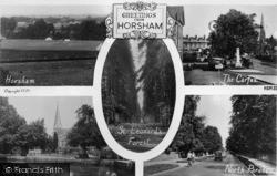 Horsham, Composite c.1950