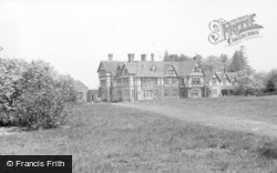 Horsham, Roffey Park Gardens c.1955