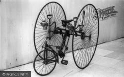 Horsham, Rudge Tricycle c.1885