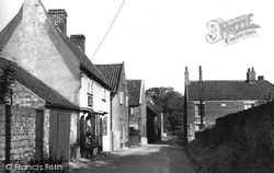 Horsham St Faith, Back Street c.1960