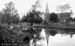 Horsham, St Mary's Church 1923