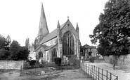 Horsham, St Mary's Church 1929