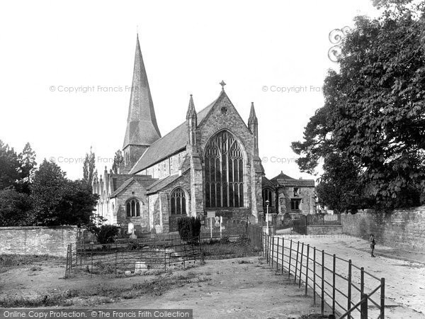 Horsham, St Mary's Church 1929