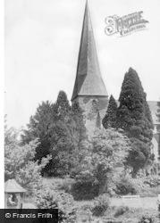 Horsham, St Mary's Church c.1950