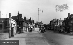 Horsham, The Bishopric c.1950