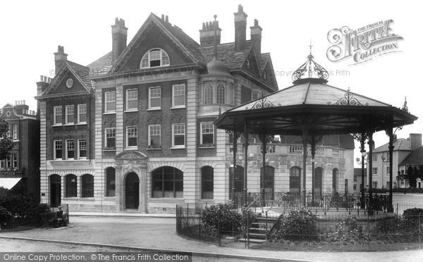 Photo of Horsham, the Carfax 1898