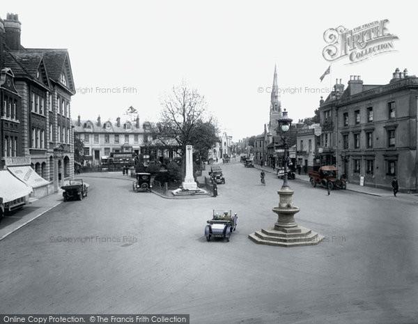 Photo Of Horsham The Carfax 1924 Francis Frith
