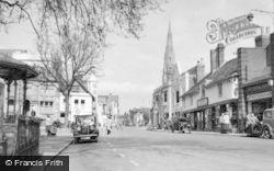 Horsham, The Carfax c.1950