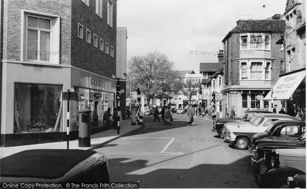 Photo Of Horsham The Carfax Francis Frith
