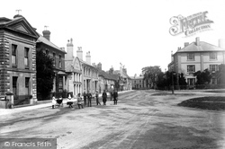 The Carfax Looking Towards London Road 1892, Horsham