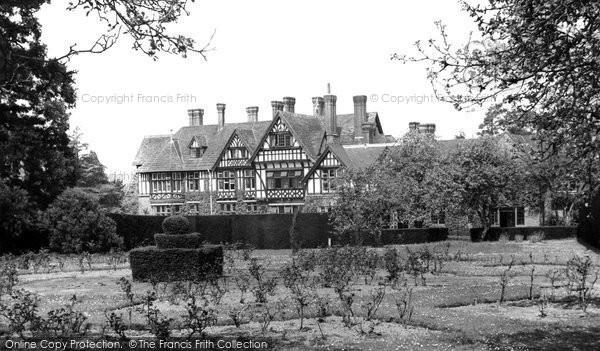 Photo of Horsham, the Gardens, Roffey Park Rehabilitation Centre c1955