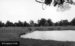 Horsham, The Park c.1955