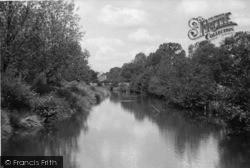 Horsham, The River From Church Bridge c.1950