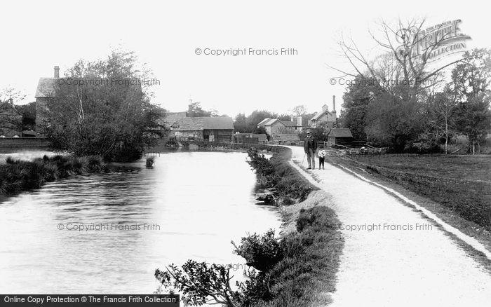 Horsham,Town Mill 1891,Sussex