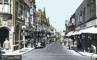 Horsham, West Street c1955