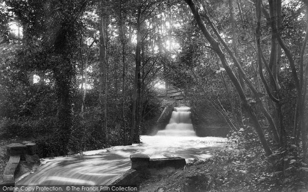 Horsmonden, Waterfall Furnace Pond 1903