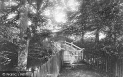 The Rectory Footbridge 1904, Horsmonden