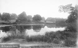The Rectory Lake 1904, Horsmonden