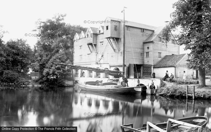 Coltishall,Old Mill 1902,Norfolk