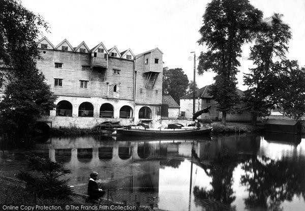 Coltishall,the Mill 1902,Norfolk
