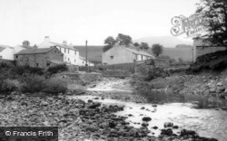 Horton-In-Ribblesdale, River And Pen-Y-Ghent c.1960, Horton In Ribblesdale