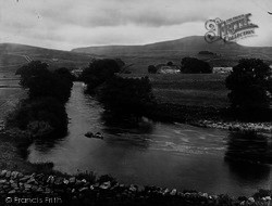Horton-In-Ribblesdale, River Ribble 1921