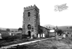 Horton-In-Ribblesdale, St Oswald's Church 1921