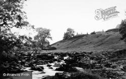 Horton-In-Ribblesdale, The River Ribble c.1960