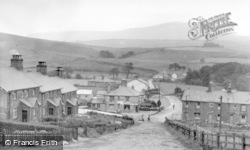 Horton-In-Ribblesdale, The Village From Station Hill c.1955