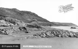 Horton, The Cliffs And Beach c.1960