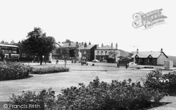 Garden Of Remembrance, Lever Park c.1955, Horwich