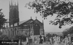 Holy Trinity Church c.1965, Horwich