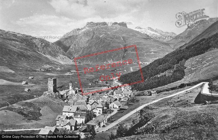 Photo of Hospental, c.1935