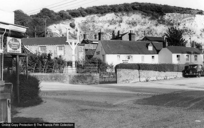 Photo of Houghton, Bridge c.1960