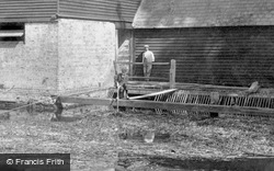 Clearing The Mill Debris 1899, Houghton