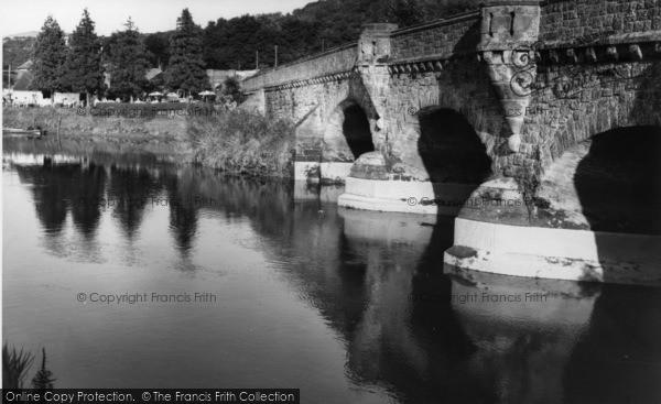 Photo of Houghton, Houghton Bridge c.1960