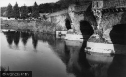 Houghton, Houghton Bridge c.1960