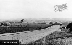 Houghton-Le-Spring, General View c.1960