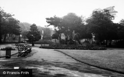 Houghton-Le-Spring, The Park c.1960