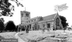 All Saints Church c.1955, Houghton Regis
