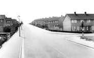 Houghton Regis, Tithe Farm Road c1965