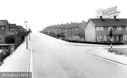 Tithe Farm Road c.1965, Houghton Regis