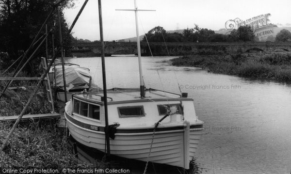 Photo of Houghton, River Arun From Vinsons Tea Lawns c.1955