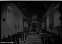 Houghton St Giles, Church Of St Giles 1922