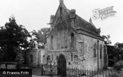 Houghton St Giles, Slipper Chapel c.1955
