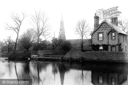 St Mary's Church From The Mill 1898, Houghton