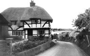 Houghton, Thatched Cottage c1965