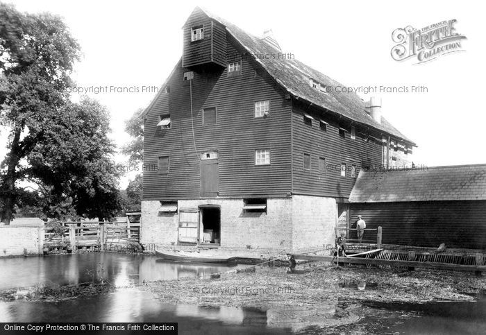 Houghton,the Mill 1899,Cambridgeshire