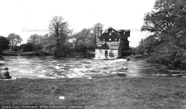 Houghton,the Mill c1960,Cambridgeshire